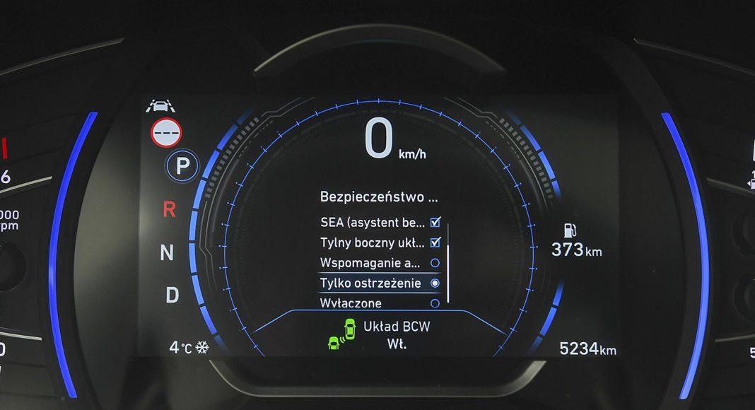 Hyundai Santa Fe 2.0 CRDi 8AT 4WD - wskaźniki