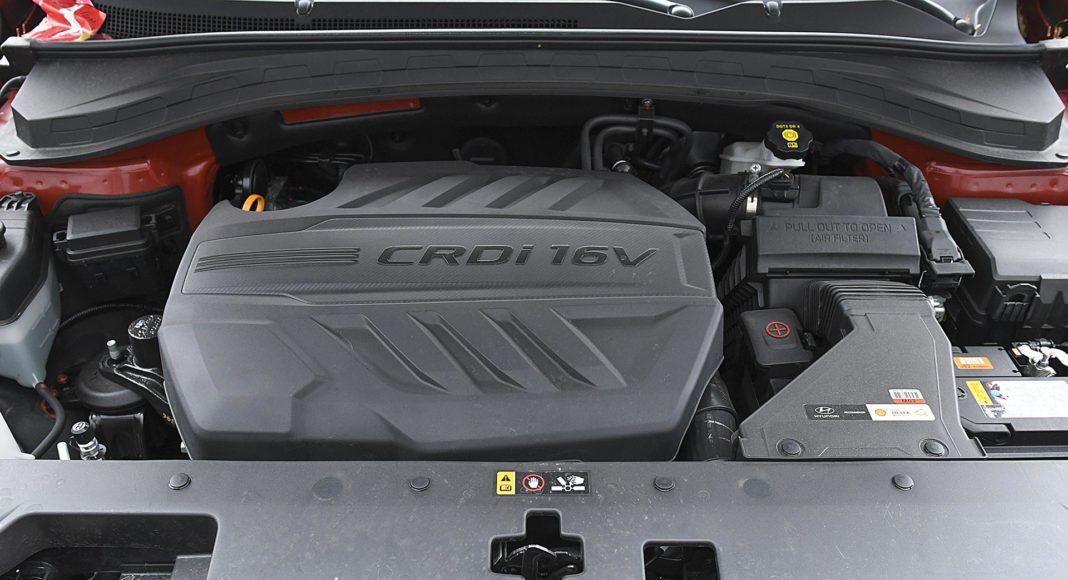 Hyundai Santa Fe 2.0 CRDi 8AT 4WD - silnik
