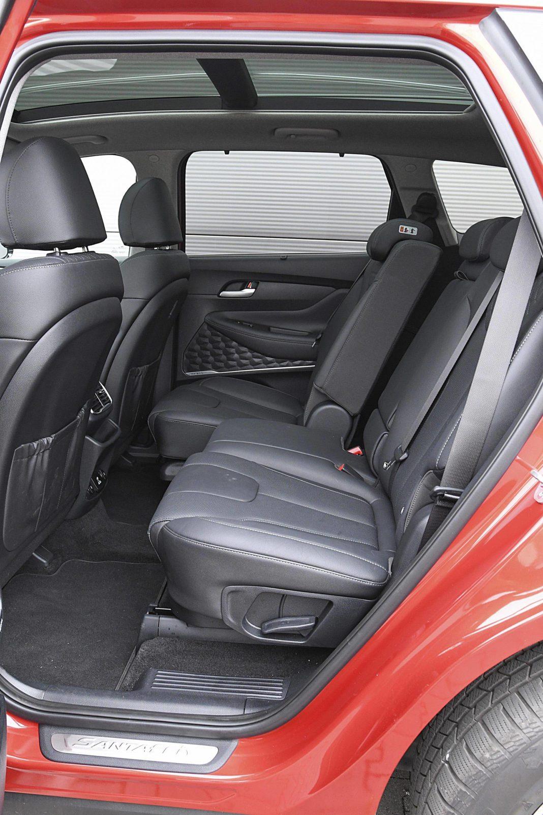 Hyundai Santa Fe 2.0 CRDi 8AT 4WD - kanapa