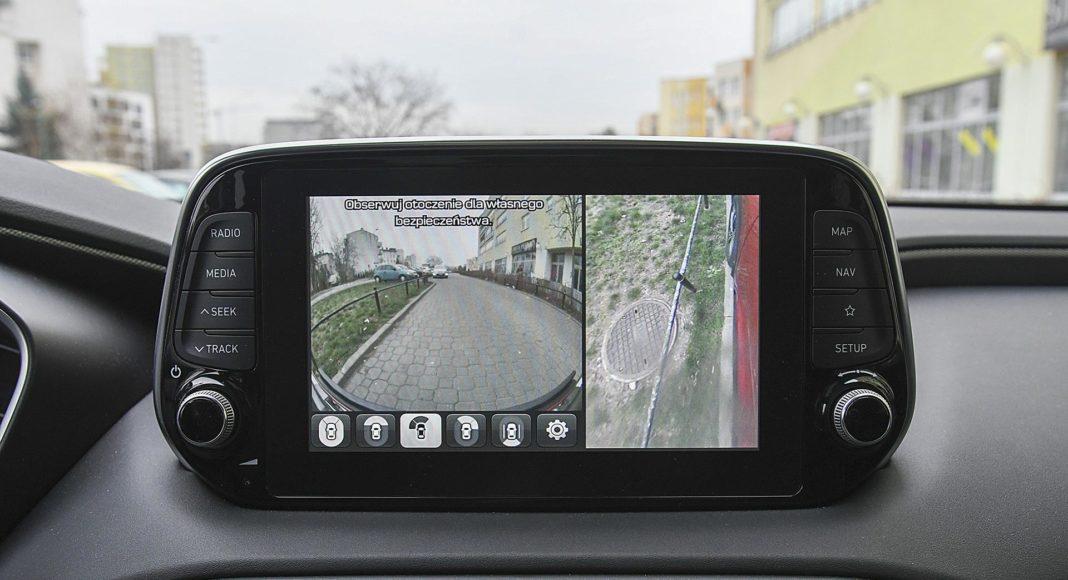 Hyundai Santa Fe 2.0 CRDi 8AT 4WD - kamera cofania