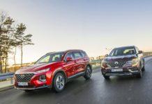Hyundai Santa Fe 2.0 CRDi 8AT 4WD - Renault Koleos 2.0 Blue dCi X-Tronic 4x4