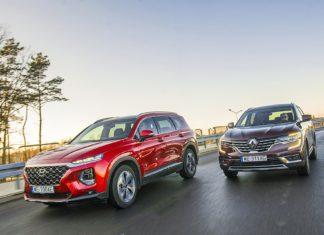 Hyundai Santa Fe, Renault Koleos – PORÓWNANIE