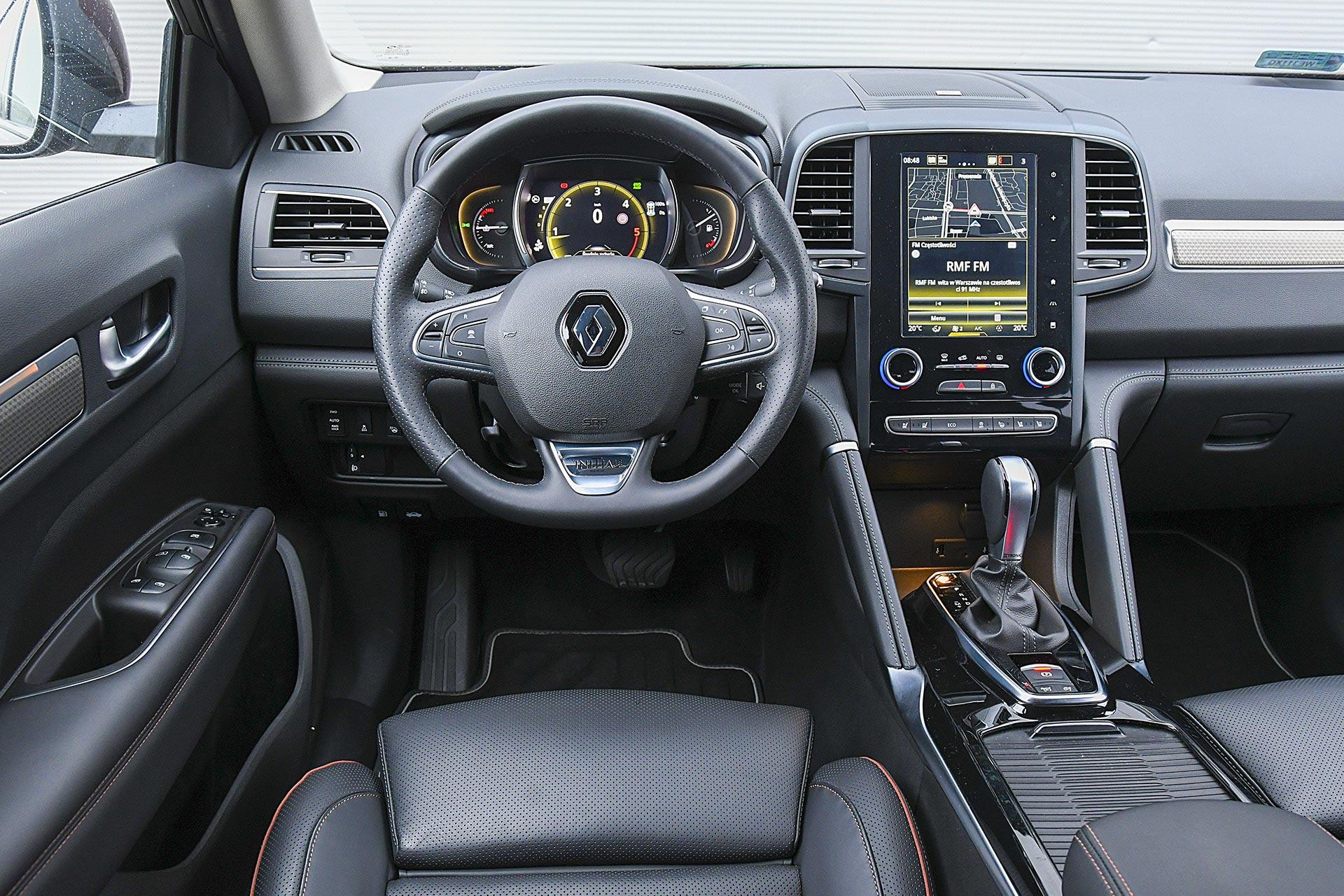 Renault Koleos 2.0 Blue dCi X-Tronic 4x4 - deska rozdzielcza