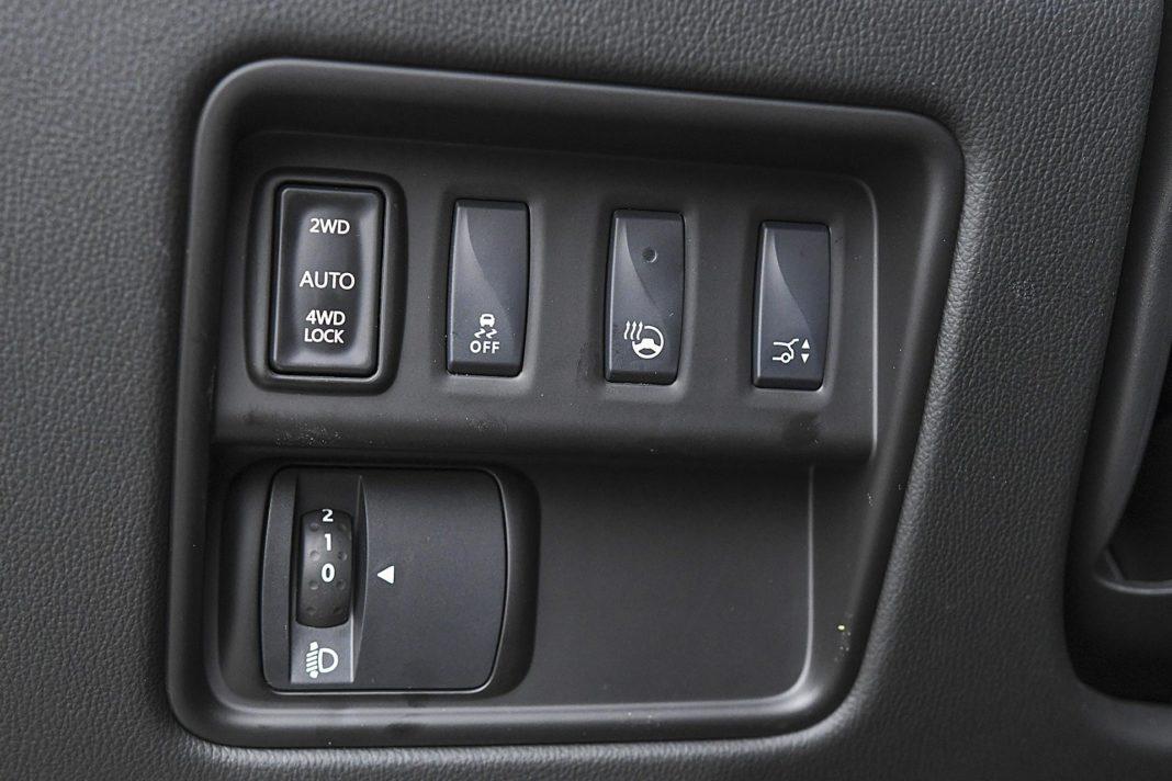 Renault Koleos 2.0 Blue dCi X-Tronic 4x4 - przycisk napędu