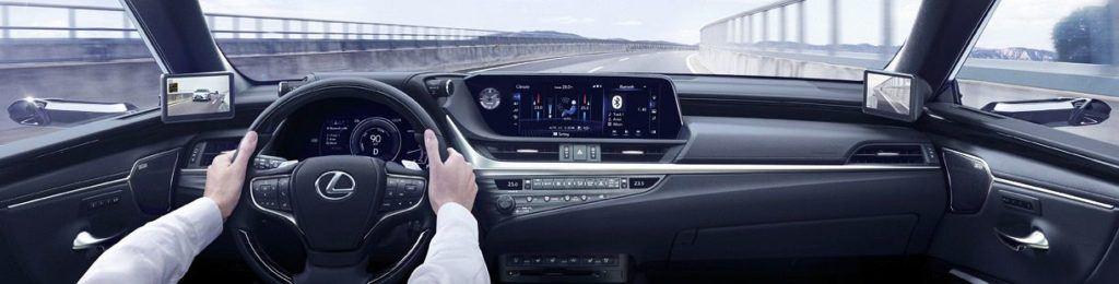Lexus ES z kamerami zamiast lusterek 06