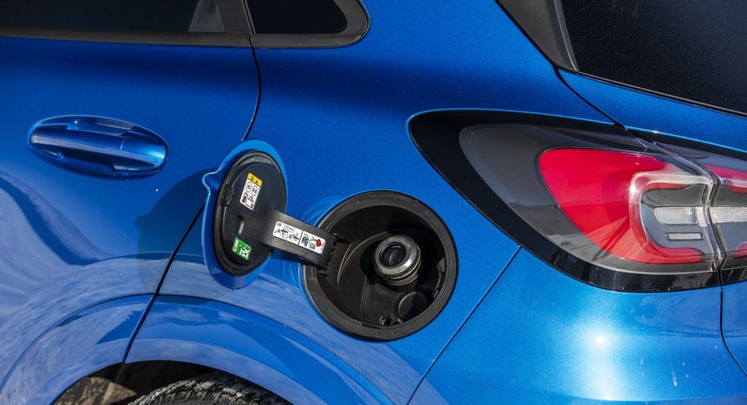 ford puma 2020 wlew paliwa
