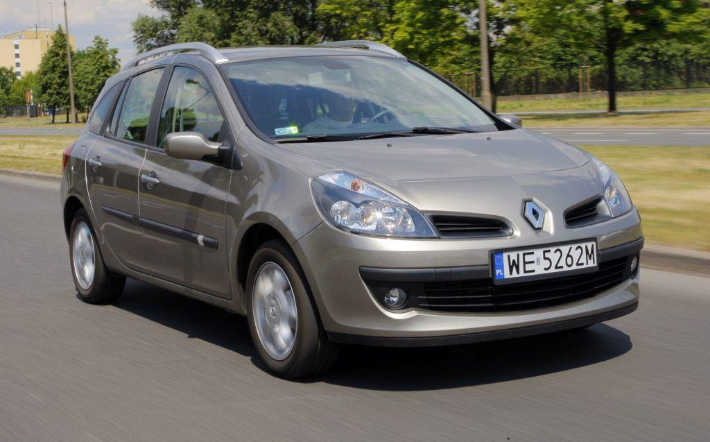 RENAULT Clio III Grandtour 1.5dCi 86KM 6MT WE5262M 06-2008