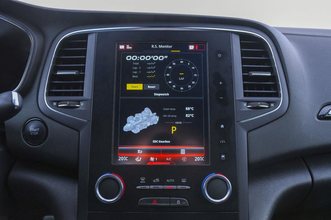 Renault Megane R.S. EDC Trophy – RS Monitor