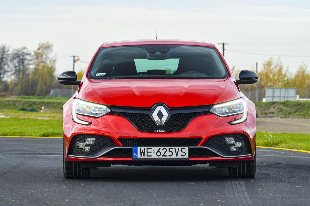 Renault Megane R.S. EDC Trophy – przód