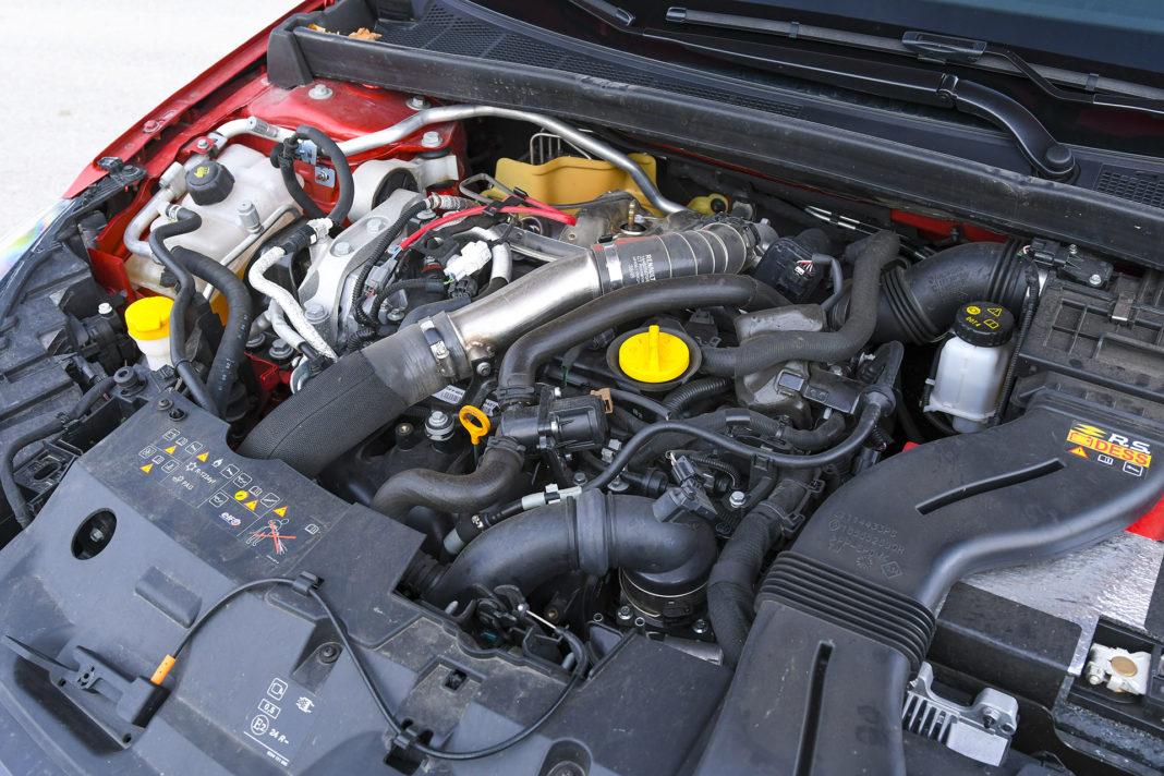 Renault Megane R.S. EDC Trophy – silnik