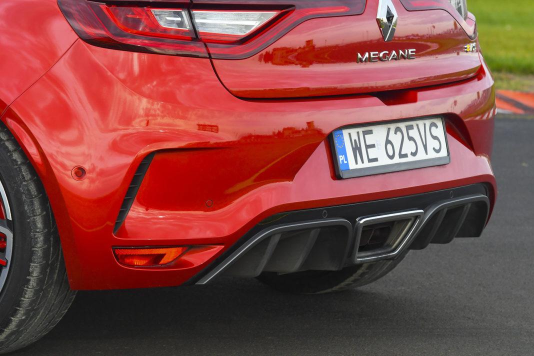 Renault Megane R.S. EDC Trophy – dyfuzor