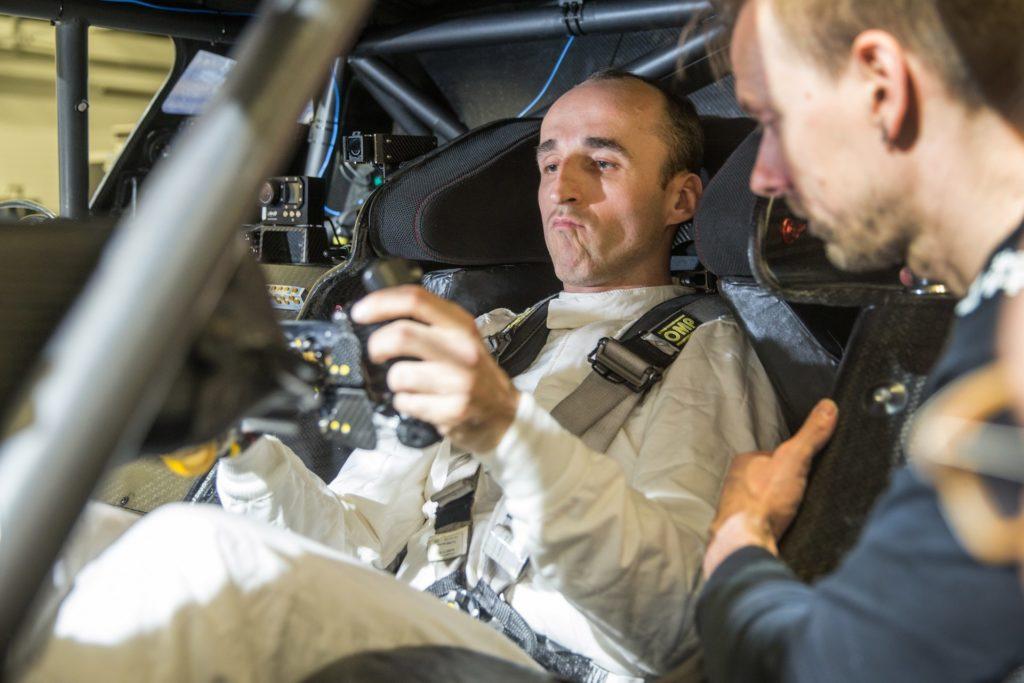 Robert Kubica w BMW M4 DTM