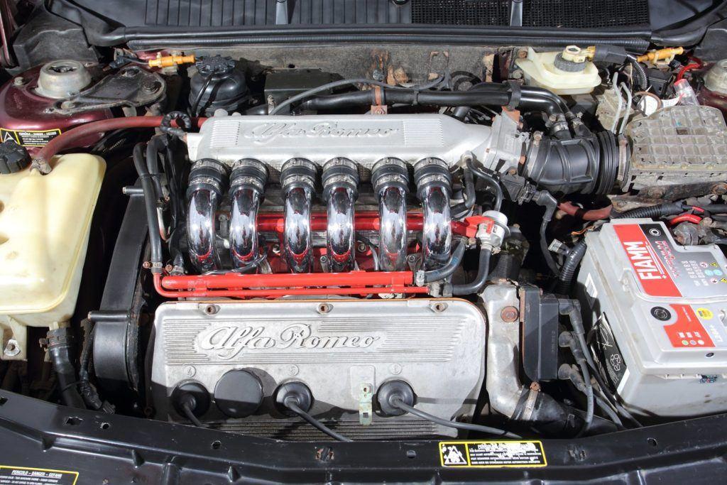 alfa romeo 155 v6 silnik busso