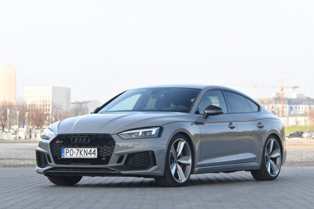 Audi RS 5 Sportback po liftingu (2020)