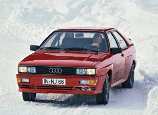 Legendarne Audi Quattro kończy 40 lat