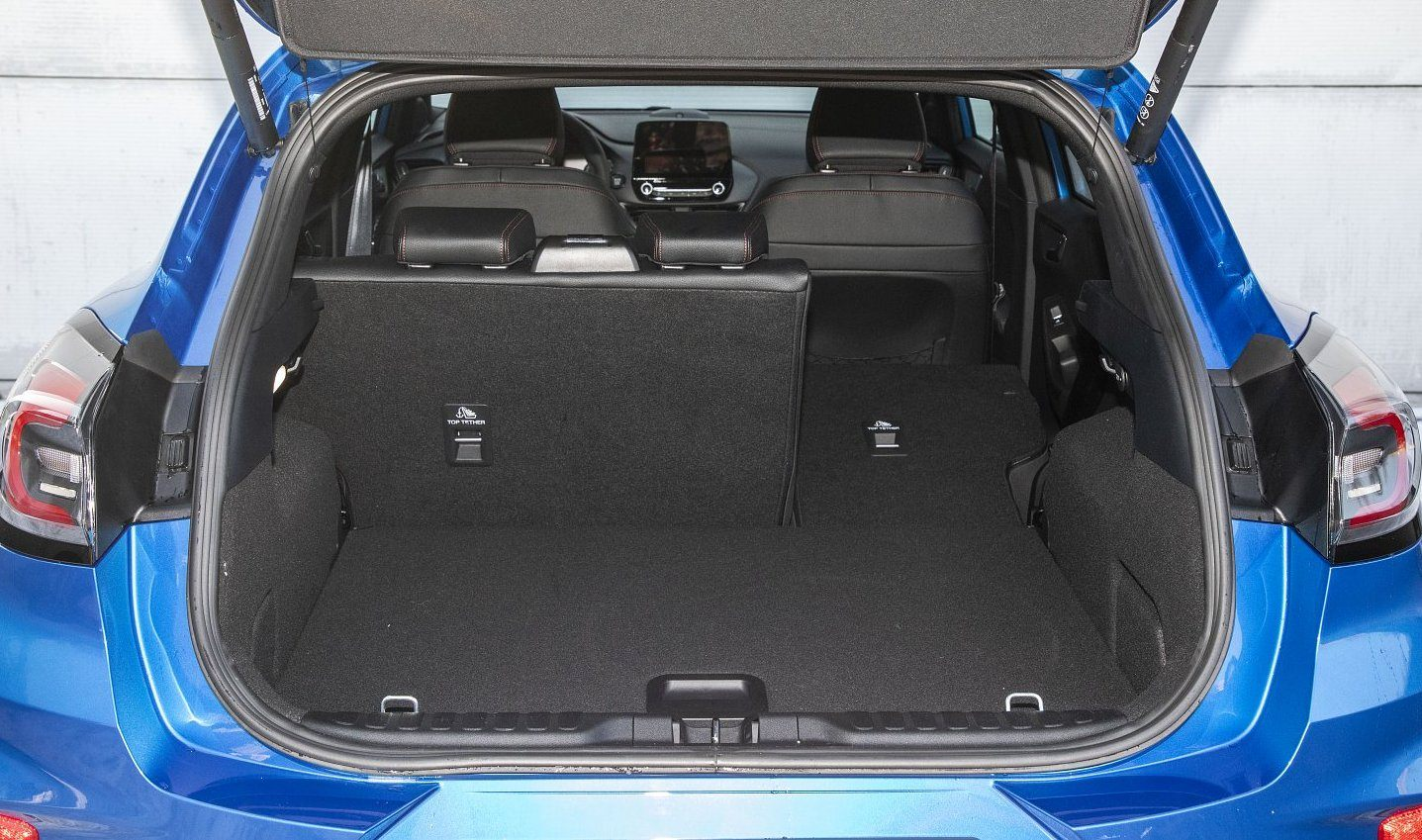 ford puma 1.0 ecoboost 125 km test 2020 - bagażnik