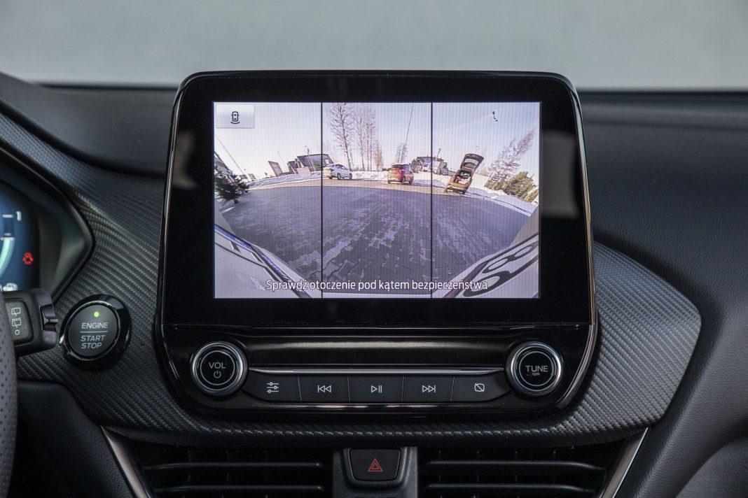 ford puma 1.0 ecoboost 125 km test 2020 - kamera cofania