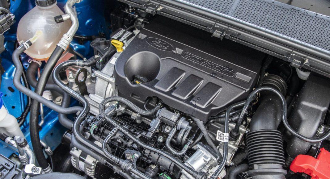 ford puma 1.0 ecoboost 125 km test 2020 - silnik