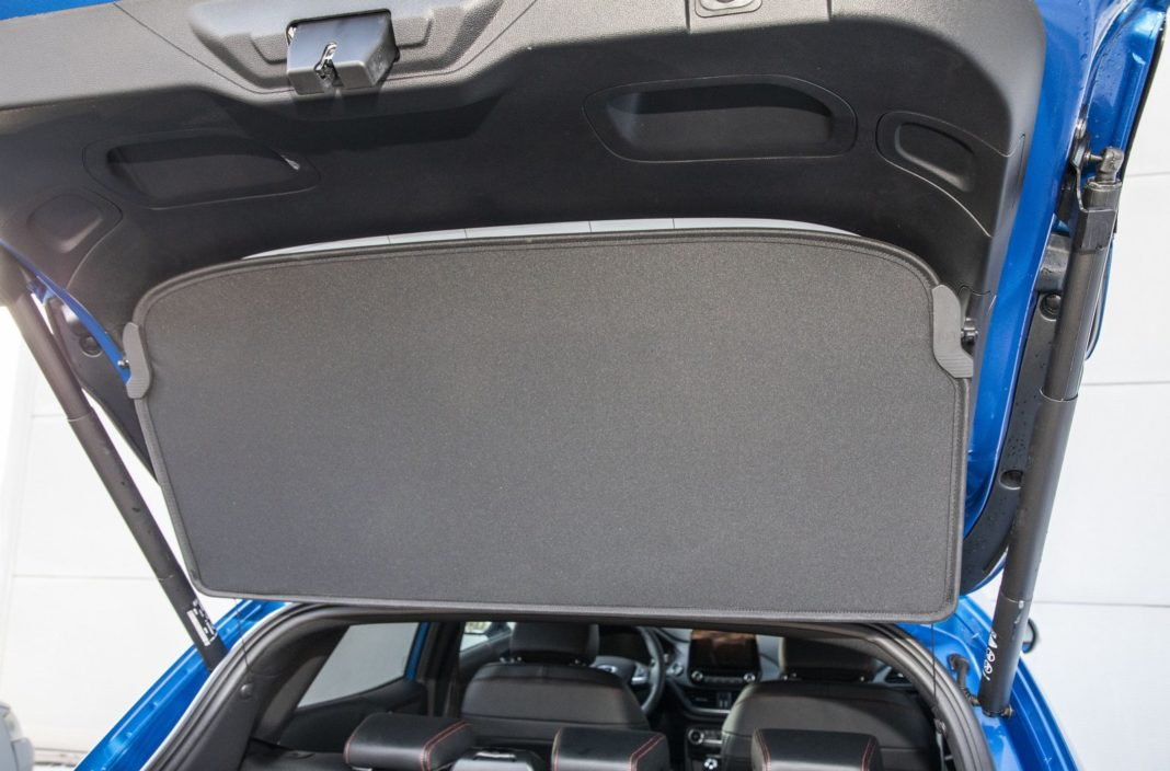 ford puma 1.0 ecoboost 125 km test 2020 - tylna półka