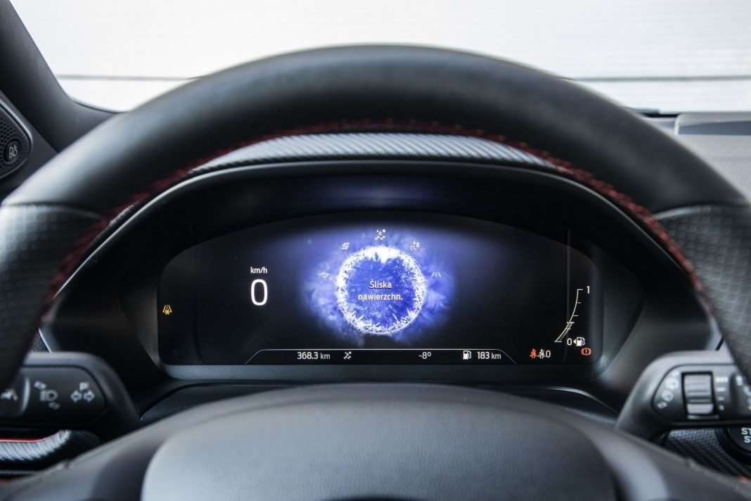 ford puma 1.0 ecoboost 125 km test 2020 - zmiana trybu jazdy
