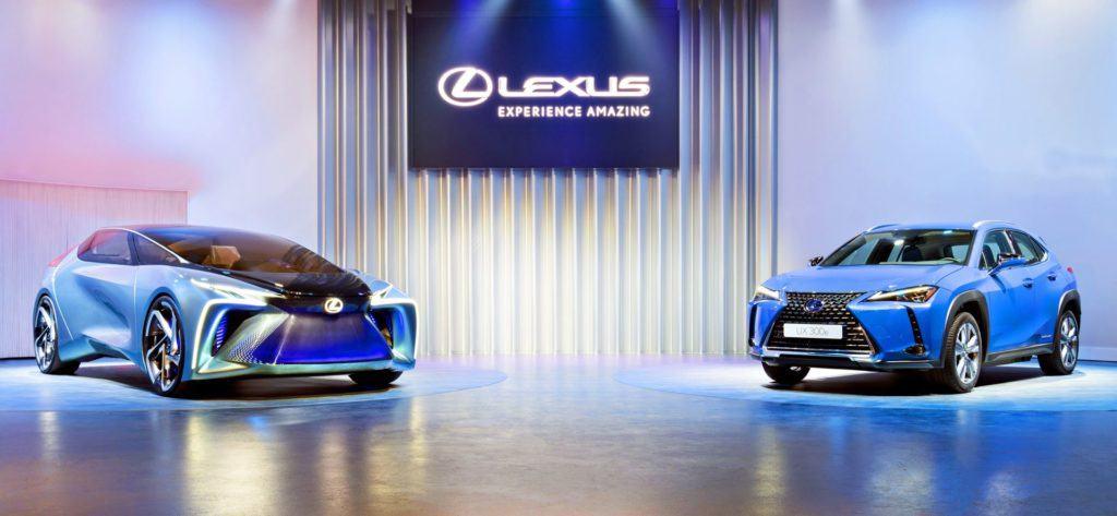 Lexus LF-30 Electrified i Lexus UX 300e