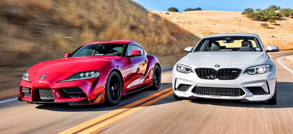 BMW M2 Competition - Toyota GR Supra