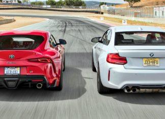 BMW M2 Competition kontra Toyota GR Supra – test na torze