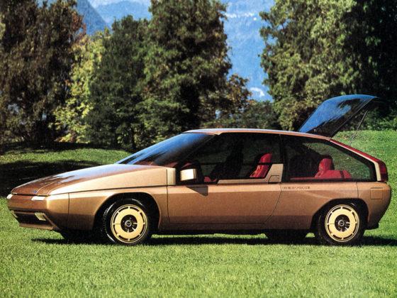 Prototypowa Mazda MX-81 (1981)
