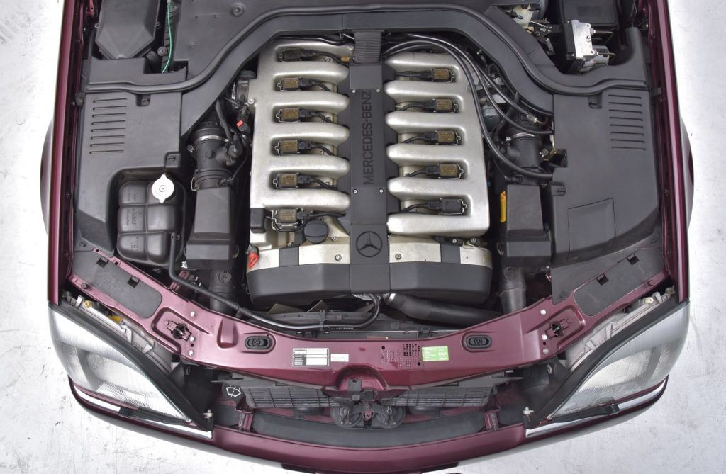 mercedes cl 600 silnik v12 m120