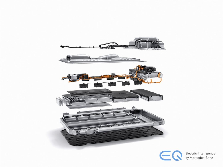 mercedes eqc akumulator wysokiego napięcia ładowanie