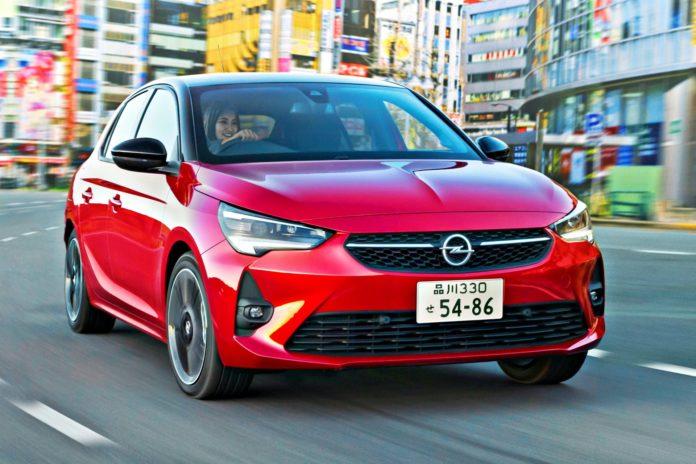 Opel Corsa w Japonii