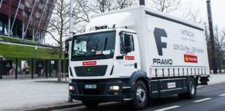 Elektryczna ciężarówka Poczty Polskiej