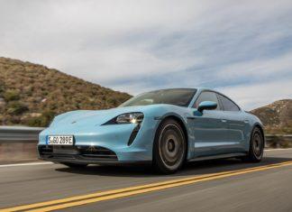 Porsche Taycan - testy i porównania - przegląd prasy