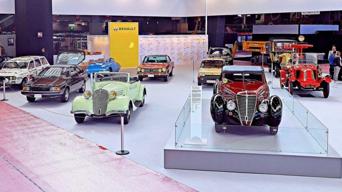 Renault na Retromobile 2020