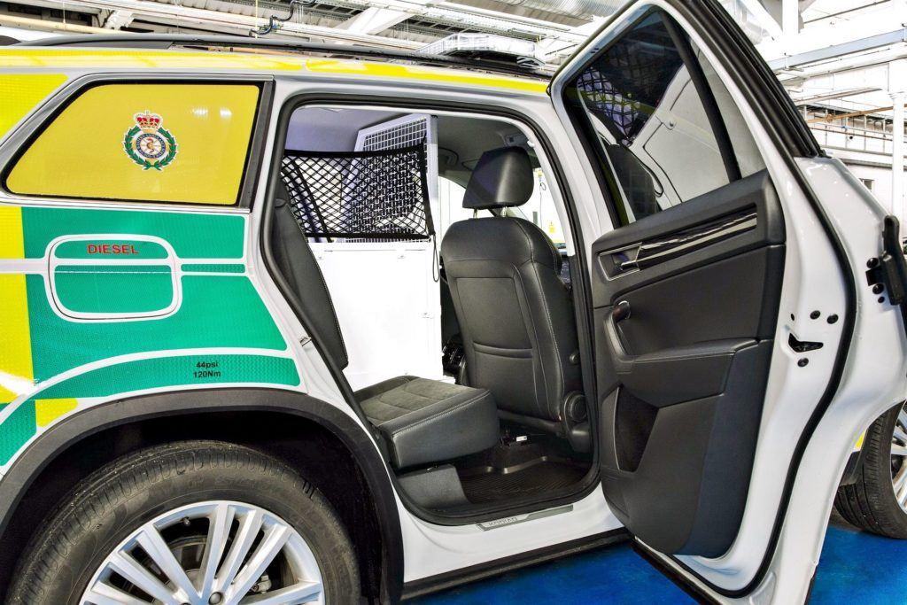 Skoda Kodiaq Ambulans