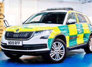 Czy SUV może uratować życie? Skoda Kodiaq jako ambulans