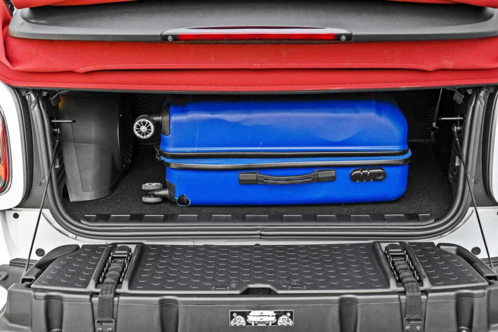 Smart EQ Fortwo Cabrio - bagażnik