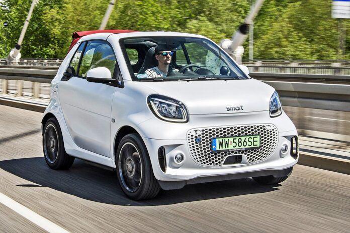 Smart EQ Fortwo Cabrio - przód