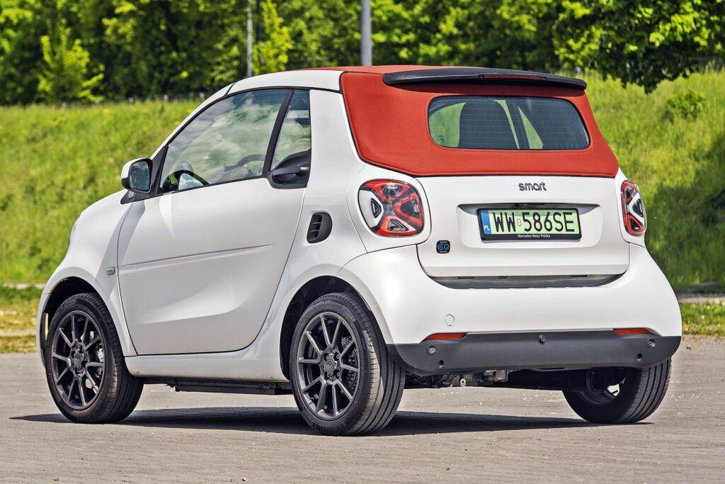 Smart EQ Fortwo Cabrio - tył