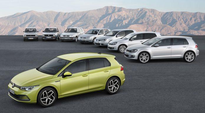 VW Golf - wszystkie generacje