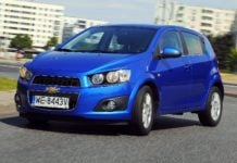 CHEVROLET Aveo II 1.4 100KM 5MT WE8443V 06-2011