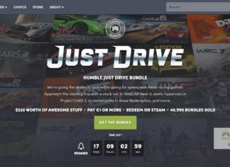 Humble Just Drive Bundle – zbawienie na czas #zostańwdomu?