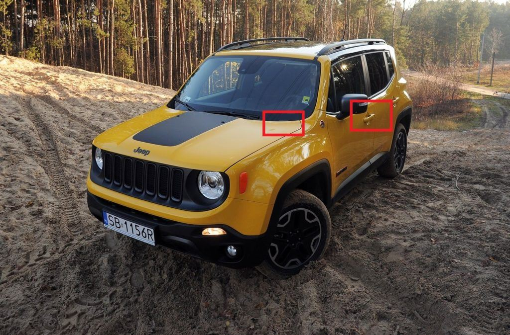 Jeep Renegade - gdzie jest VIN