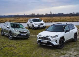 Honda CR-V, Subaru Forester, Toyota RAV4 - PORÓWNANIE