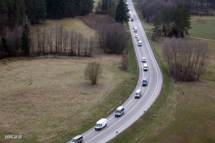 Konwój na polskich drogach