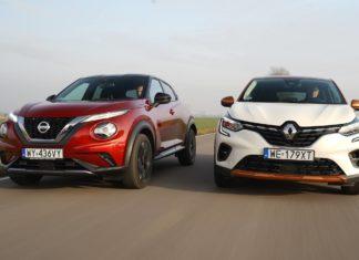 Nissan Juke kontra Renault Captur – PORÓWNANIE
