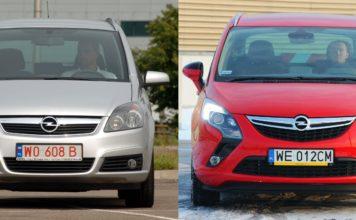 Opel Zafira - którą generację wybrać 19