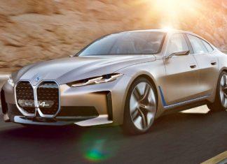 Elektryczne BMW Concept i4 bez kamuflażu. Szokuje wyglądem?