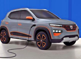 Elektryczna Dacia Spring – pierwsze zdjęcia i informacje