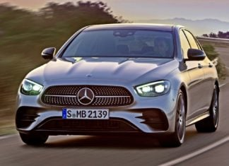 Odświeżony Mercedes klasy E – oficjalne zdjęcia i informacje